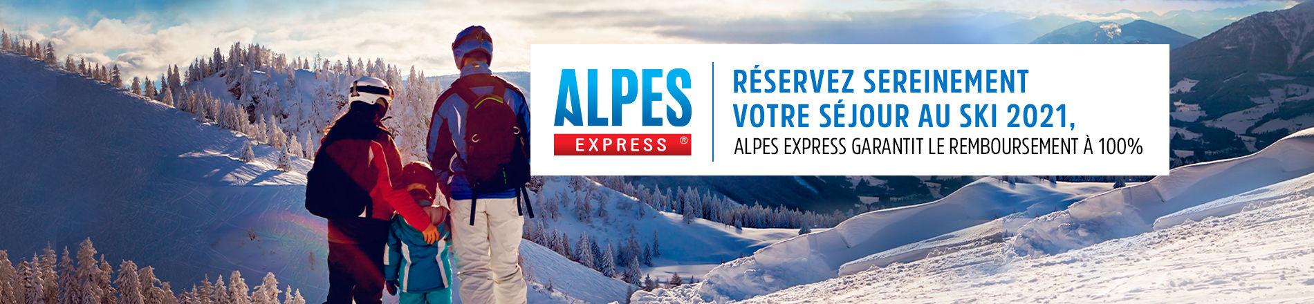Séjours à la neige avec Alpes Express, spécialiste des séjours à la montagne dans les Alpes