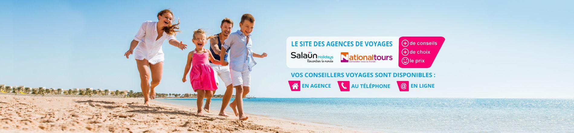 MonAgentdeVoyages.fr, le site des agences de voyages du groupe Salaün