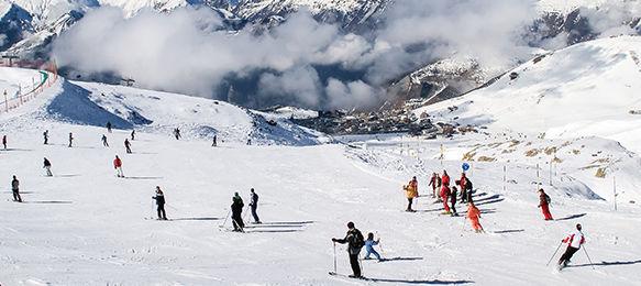 Skier en Isère