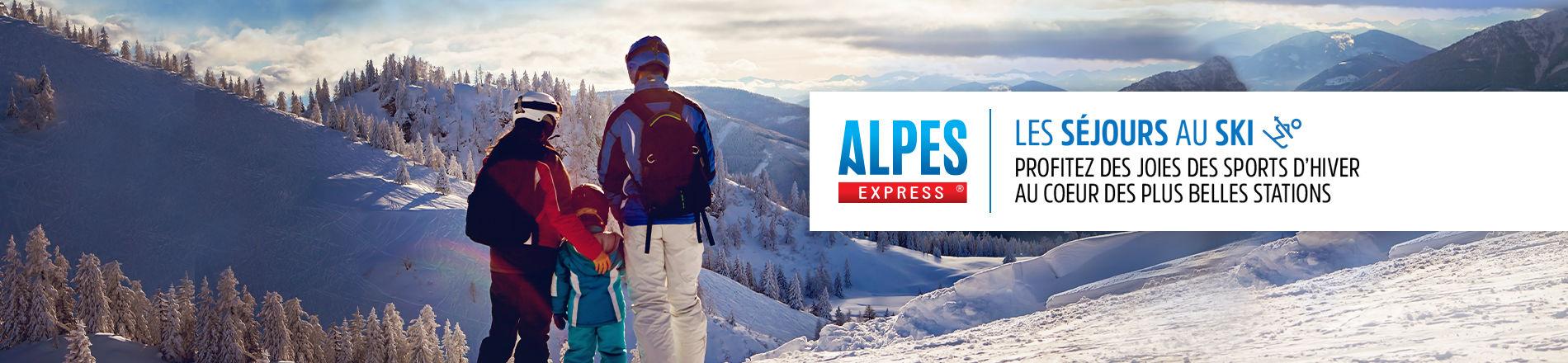 Séjours à la neige avec Alpes Express