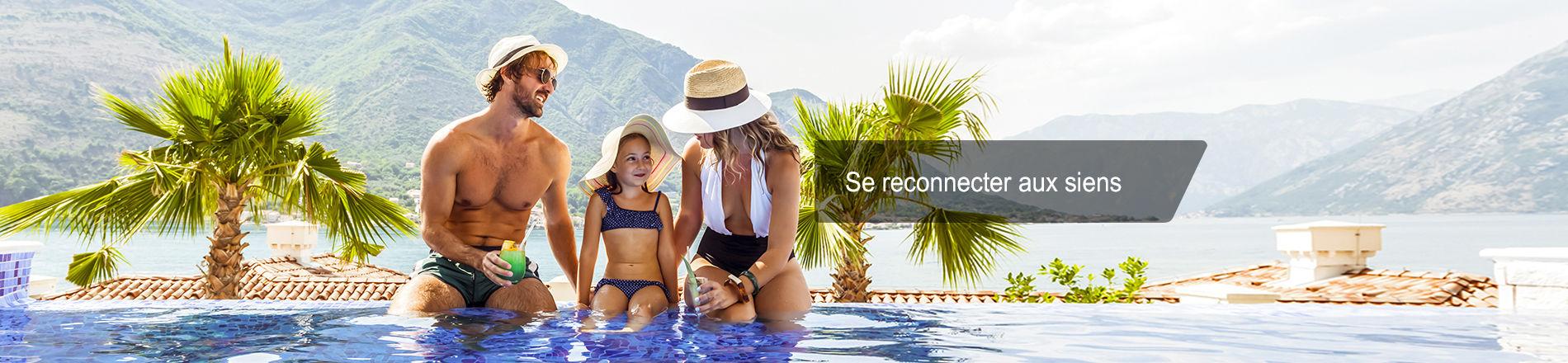 Séjours en hôtels clubs et clubs de vacances
