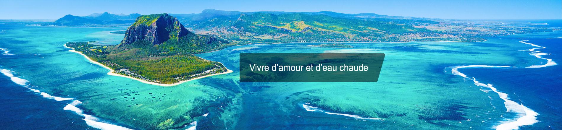 Nos séjours lointains : Seychelles, île Maurice, Thaïlande, Polynésie, République Dominicaine...