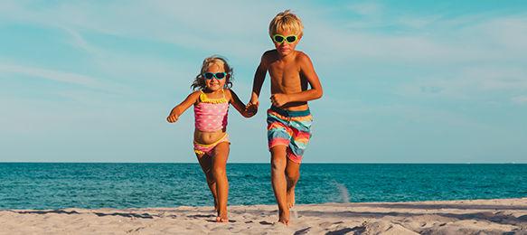 Les enfants en voyage