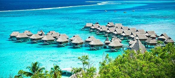 La Polynésie Française entre Tahiti et Bora-Bora