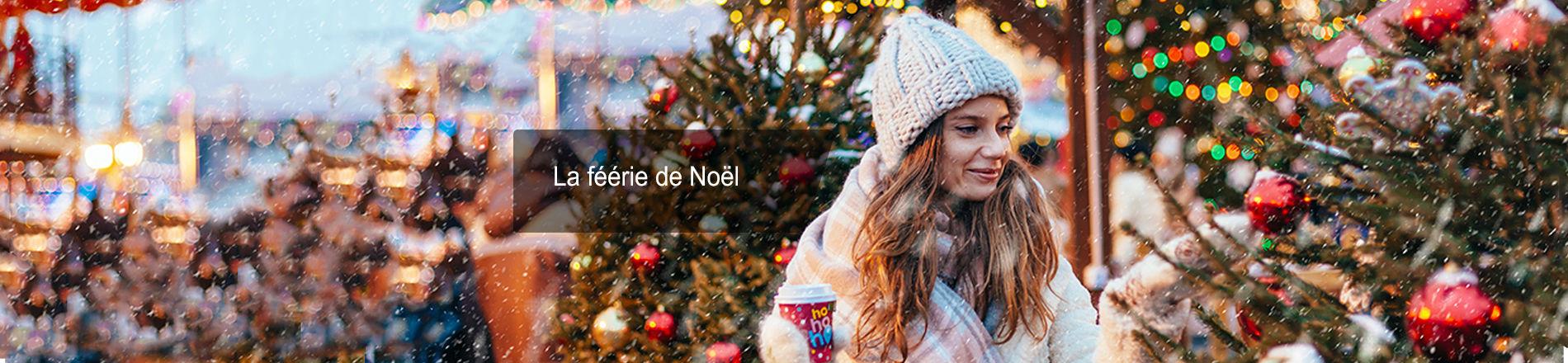 La féérie de Noël en France et en Europe