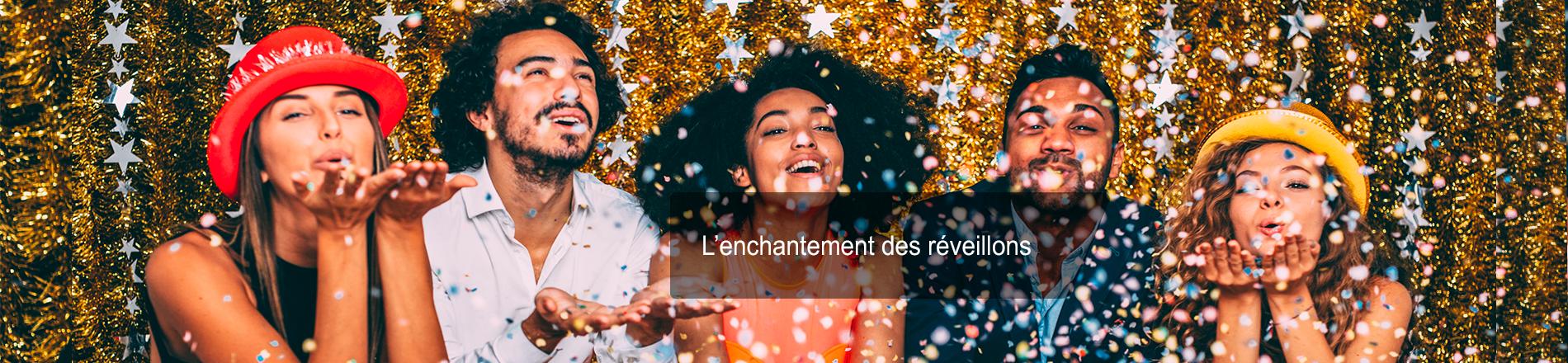 L'enchantement des réveillons de Noël et du Nouvel An en France, en Europe et au bout du monde